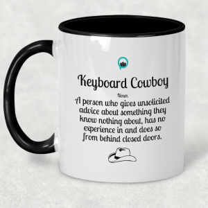 Coffee Mug - Keyboard Cowboy
